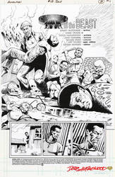 ANIMAL MAN #13 Pg 3 PRODUCTION PAGE (Stats) 1989