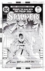 STALKER #1 Cover Recreation Ditko/Wood HAZLEWOOD
