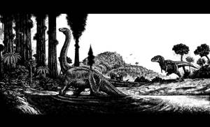 Dinosaurs MS Paint