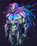 Venom-Superman Symbiote Crossover