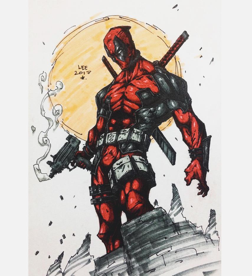 Deadpool by charddskinnylee
