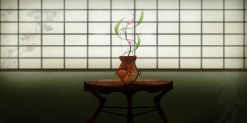 Giftart ikebana by CrimsonBlack
