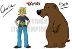 Charlies tigers and bears oh my! by CrimsonBlack