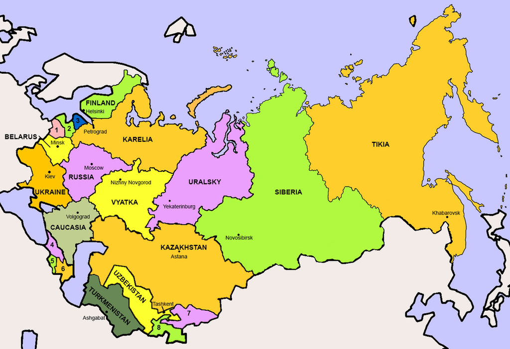 Fragmentation of russia after world war ii by pmbasehore on deviantart fragmentation of russia after world war ii by pmbasehore gumiabroncs Choice Image