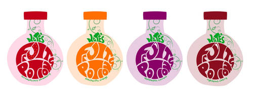 Kate's Fruit Potions Bottles by nick88mitchell