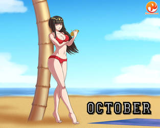 Commission: October Girl: Tharja by Reit-9