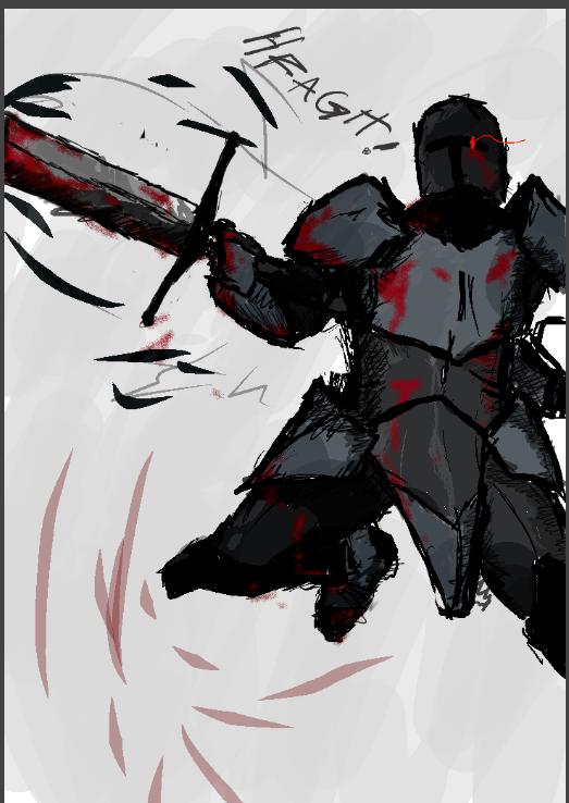 Edgy Knight by TheDarkSoulsElitist