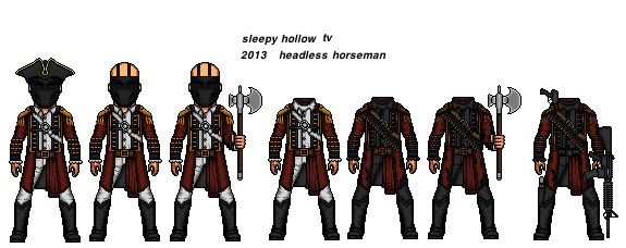 Sleepy hollow fox headless horseman costume - photo#10