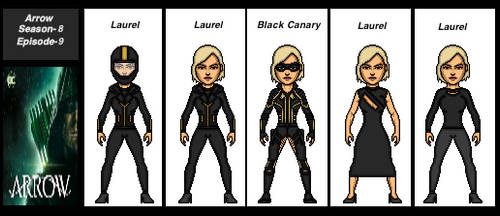 Arrow Season-8-Episode-9-Black Canary by the-collector-13