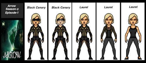 Arrow Season-8-Episode-1-Black Canary by the-collector-13