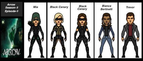 Arrow Season-8-Episode-9 by the-collector-13