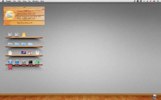 Mac OS X Wooden theme by jagaa85