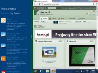 Windows 8 SNAP by jaycee13
