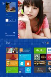 My 'Windows 8' by jaycee13