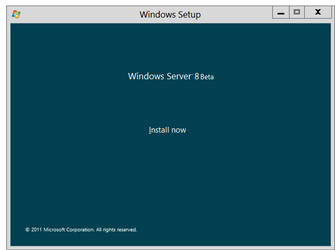 Windows Server 8 Beta