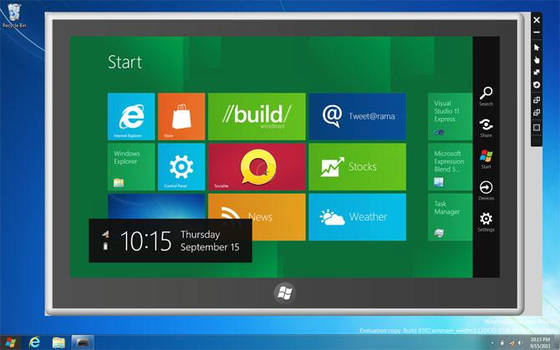 Windows 8 Simulator