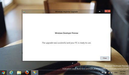 Windows 8 Aerolite Glass