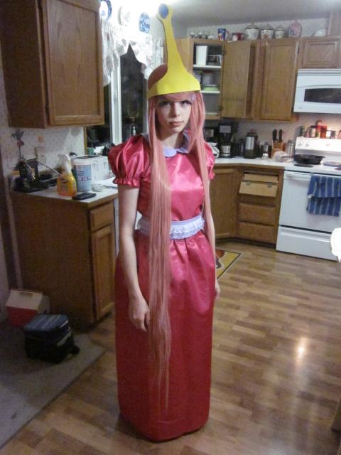 Princess Bubblegum Cosplay (halloween) by erisabesu-kuro-gosai