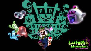 Luigi's Mansion Dark Moon Wallpaper