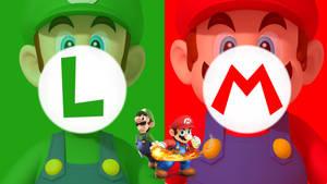Mario and luigi wallpaper