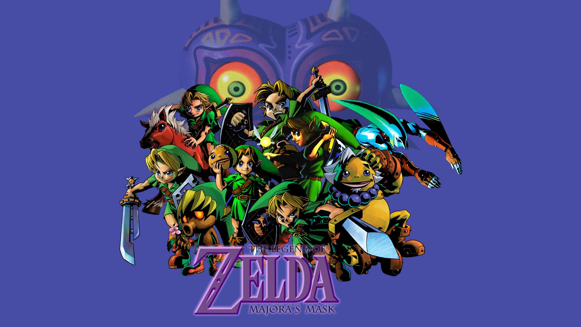 The Legend of Zelda Majora's Mask wallpaper