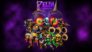 Zelda Majora's Mask 3ds wallpaper