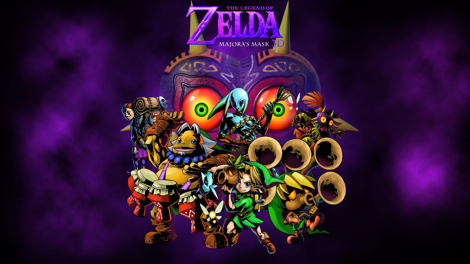 Zelda Majora's Mask 3ds wallpaper by zupertompa on DeviantArt