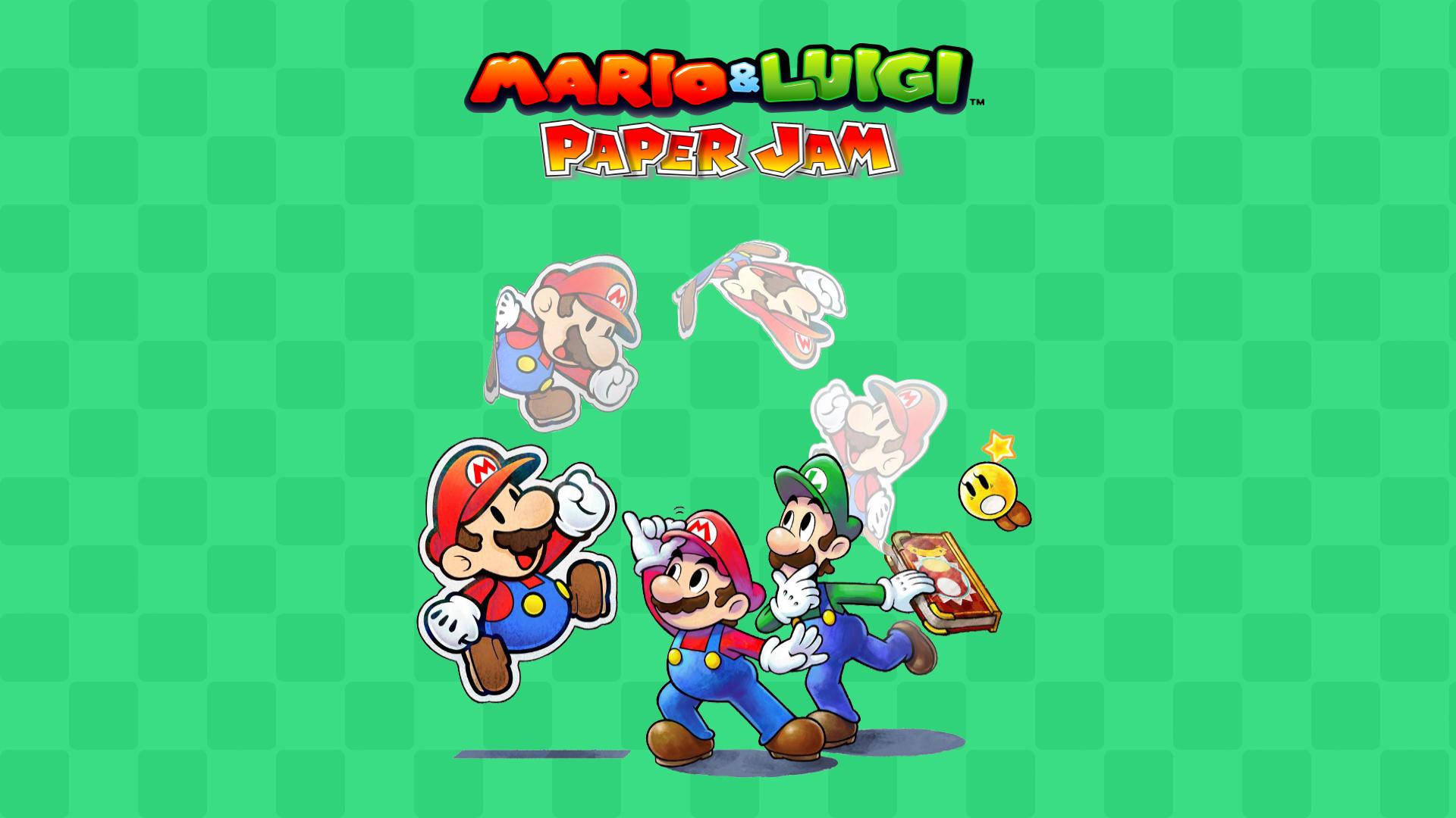 mario and luigi paper jam