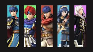 Fire Emblem Smash Bros Cast