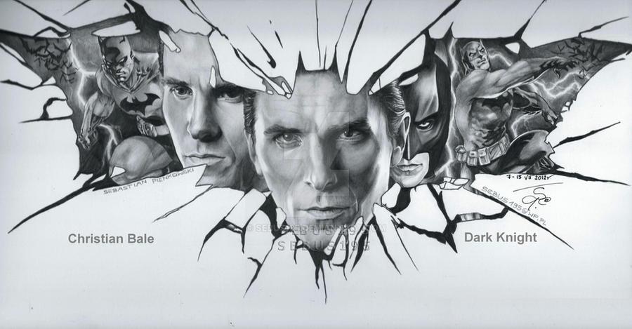 Dark Knight - Christian Bale by sebus195