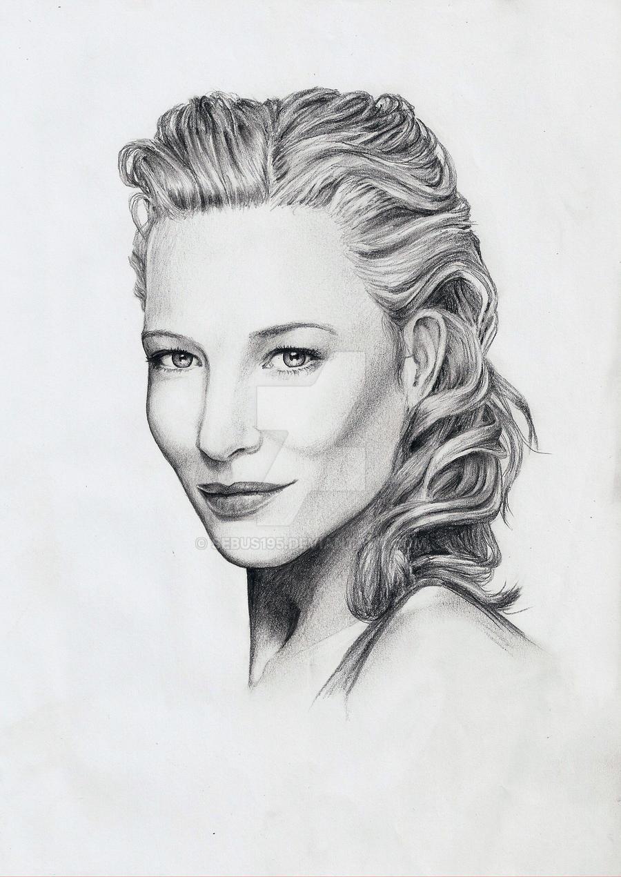 Cate Blanchett by sebus195