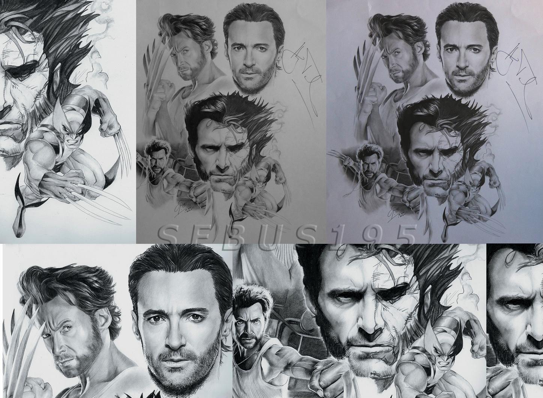 Hugh Jackman - Wolverine by sebus195
