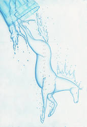 The Diving Horse