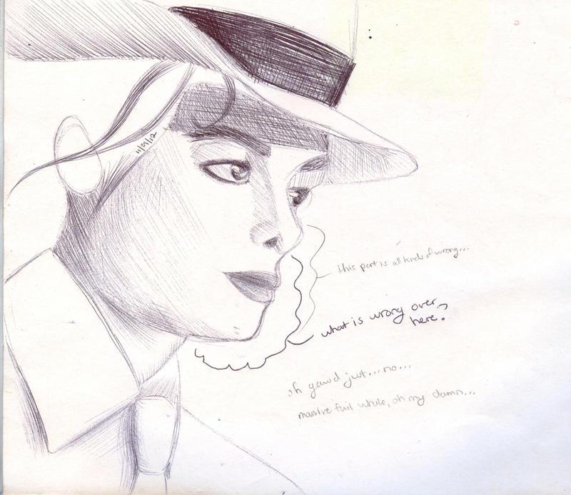 M J Sketch Images Minimalist MJ Sketch Critique