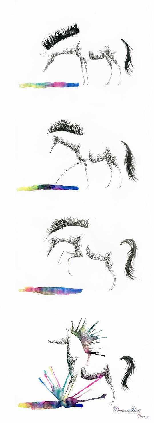 Rainbow Splash! by MoonwalkingHorse