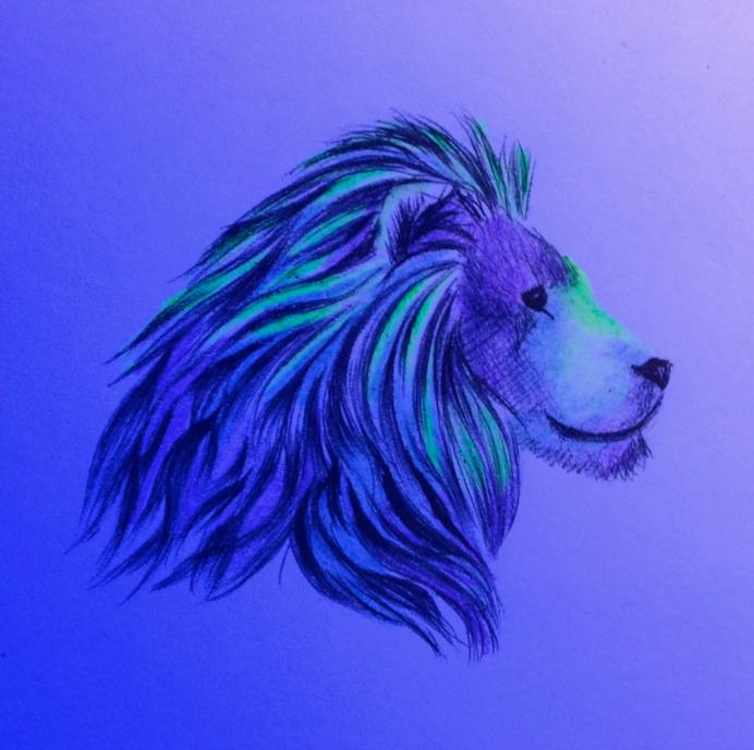 Daily Doodle#26: I'd be lion if I said I wasn't... by MoonwalkingHorse