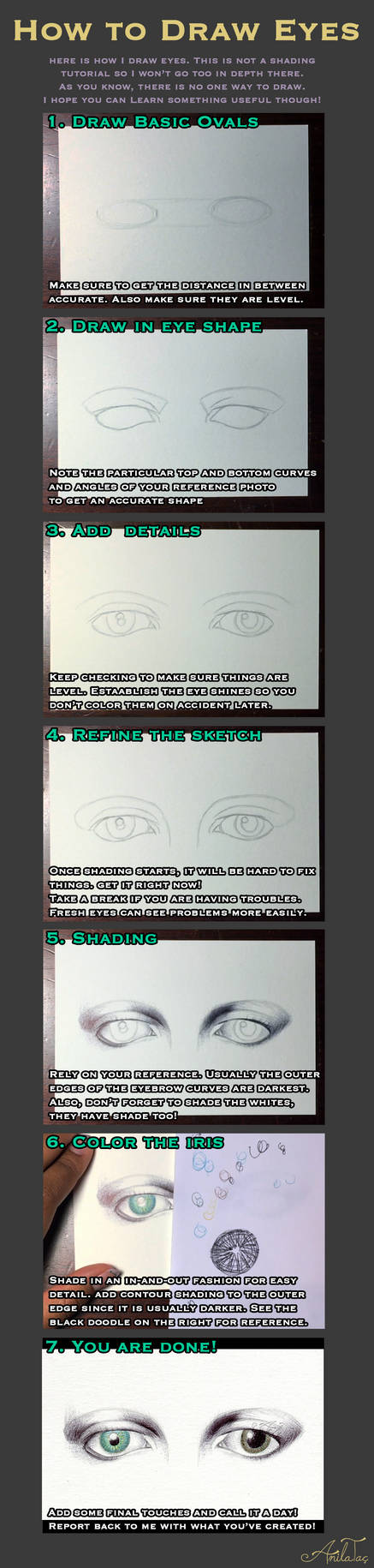 How To Draw Eyes ft David Bowie