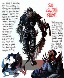 CDC/Inktober 17 - Glutton Knight