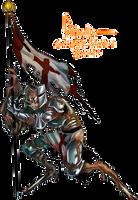 June CDC 2017 - Knight Amaranth by flatw00ds