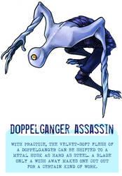 Day 44 - Doppelganger Assassin