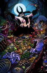 Bacchanal of Forest God