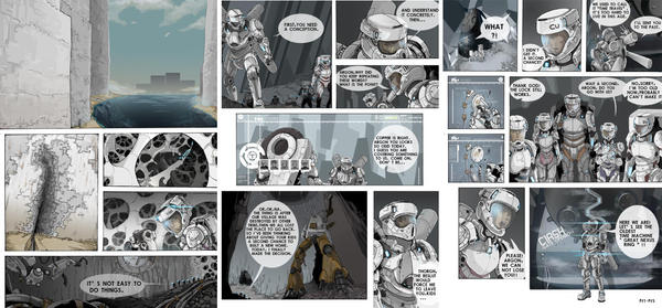 SF COMIC 3 PAGES by lightion