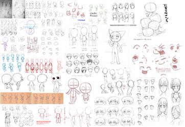 Template and Guideline Sheet by crazyart13