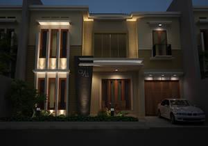 Night Scene House