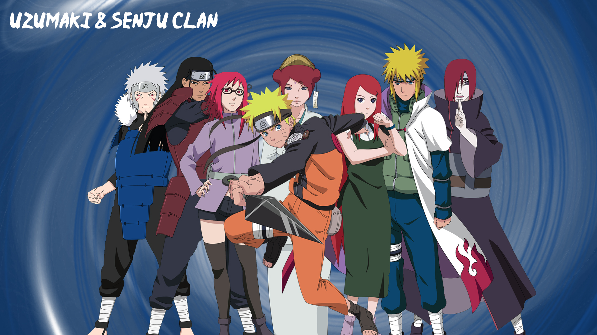 Uzumaki and Senju Clan by Ishiku5238 on DeviantArt