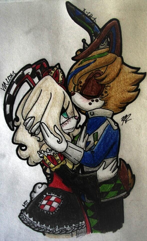GxJ ~Forehead Kiss~ by X-Childish-Habit-X