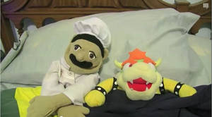 Chef Peepee and Bowser