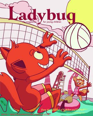 Ladybug magazine cover  by Mattdrawstoons