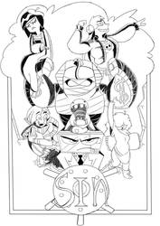 Seven deadly sins cover by Mattdrawstoons