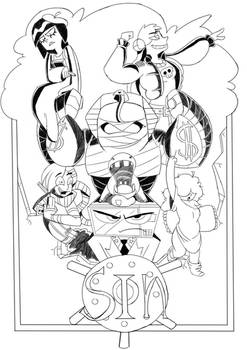 Seven deadly sins cover